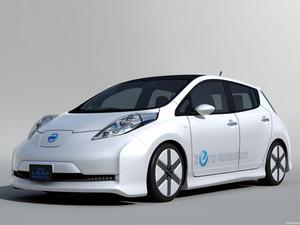 Nissan Leaf Aero Style Concept 2011