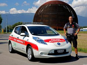 Nissan Leaf Swiss Police Car 2013