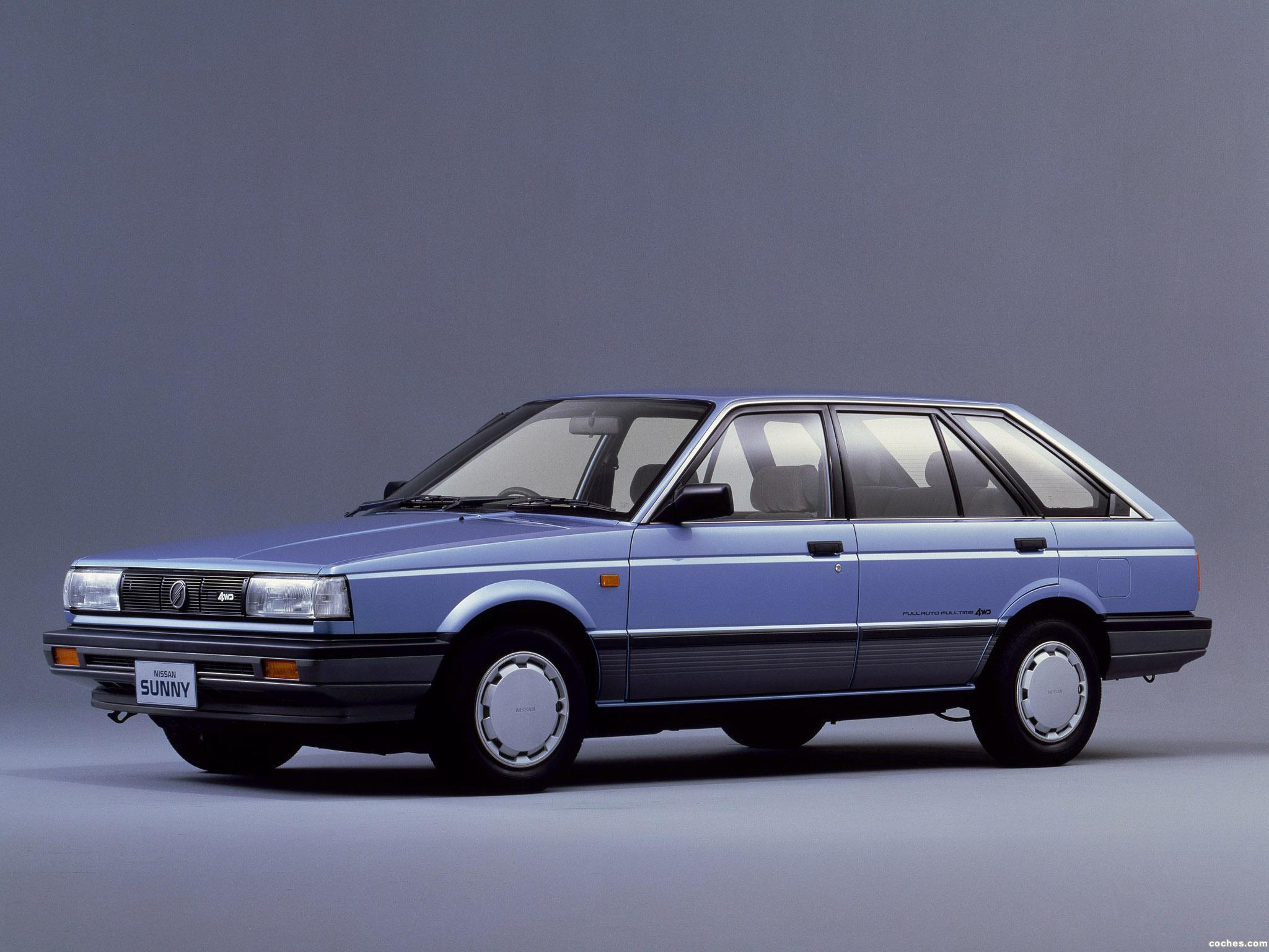 Fotos de Nissan Sunny California 4WD B12 1986