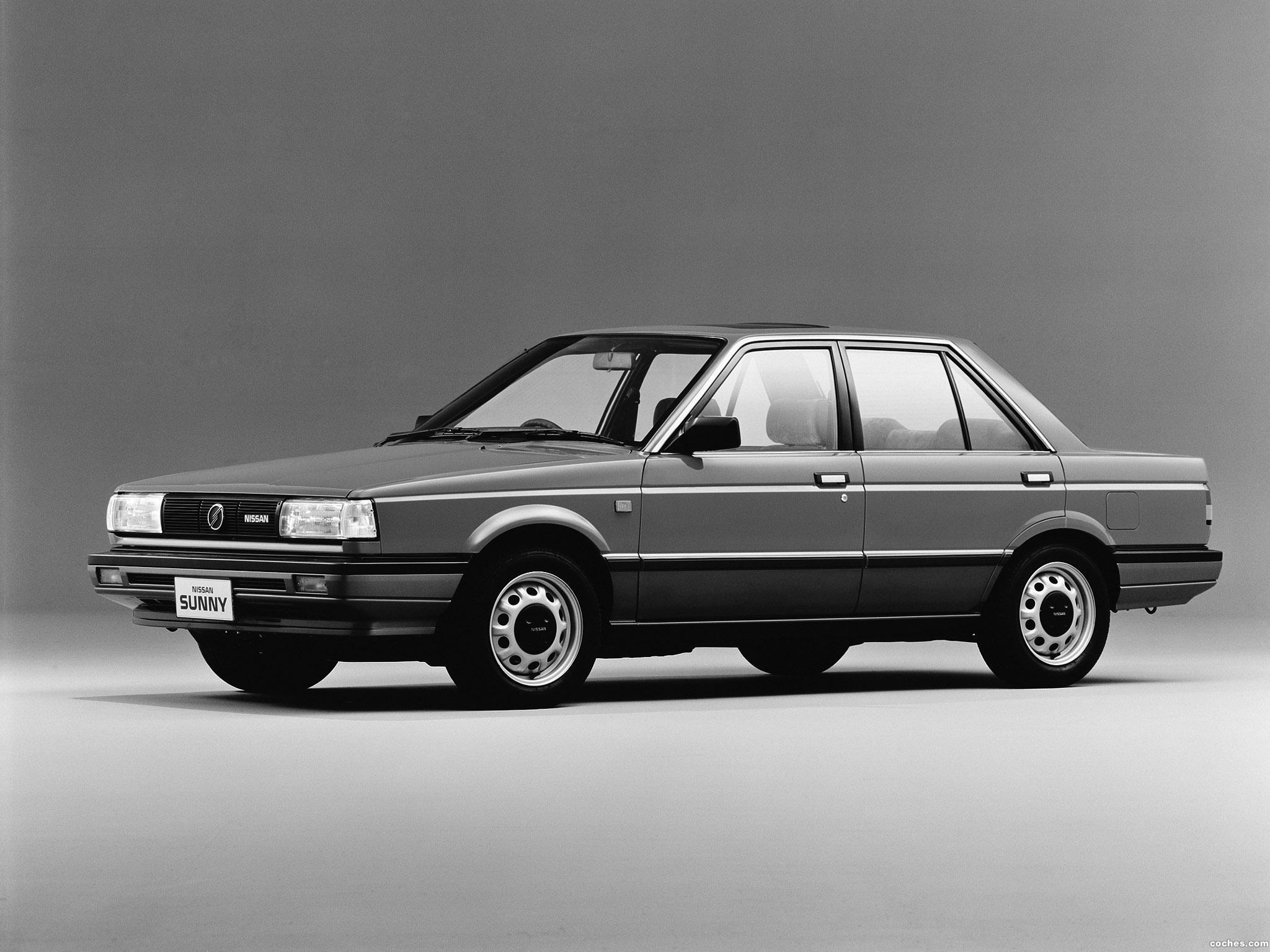 Fotos De Nissan Sunny Sedan B12 1985