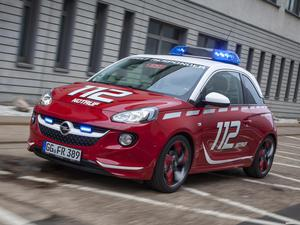 Opel Adam 112 Euronotruf 2013