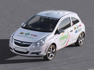 Opel Corsa Hybrid by Schaeffler Group 2010