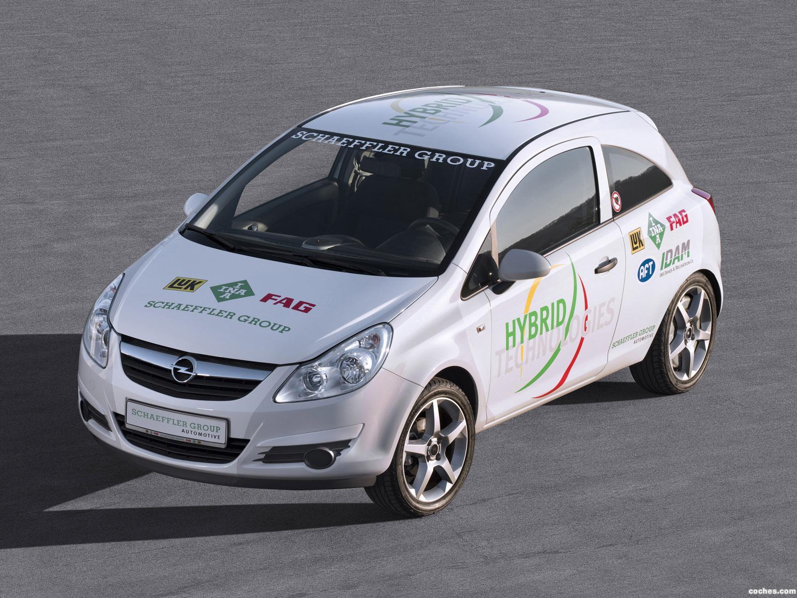 2010 Opel Corsa Hybrid Concept photo - 1