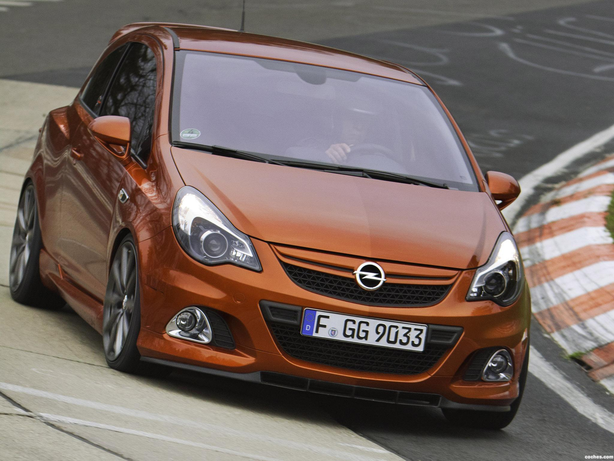 fotos de opel corsa opc nurburgring edition 2011. Black Bedroom Furniture Sets. Home Design Ideas