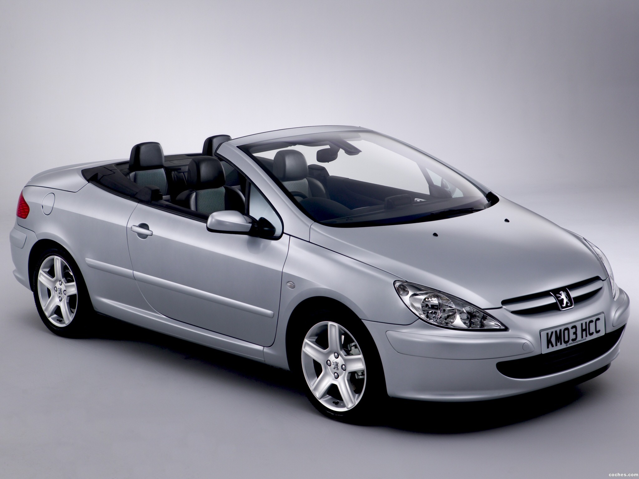 fotos de peugeot 307 cc 2003. Black Bedroom Furniture Sets. Home Design Ideas
