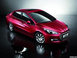 Peugeot 308 Sedan China 2011