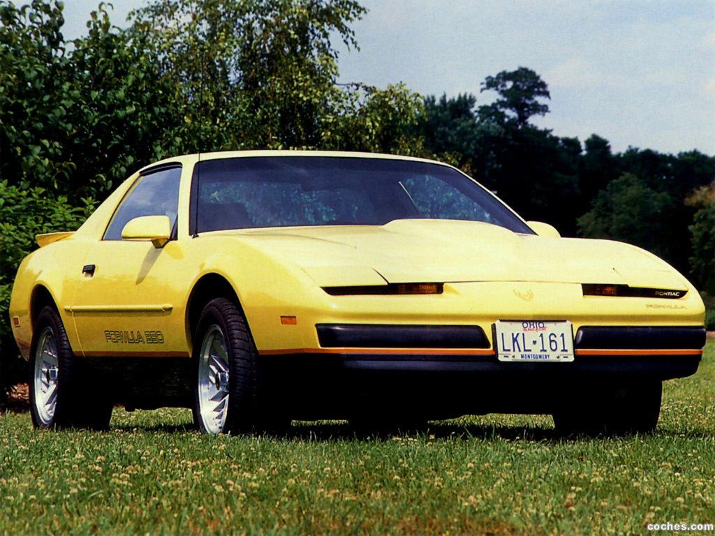 Fotos De Pontiac Firebird Formula 350 1987