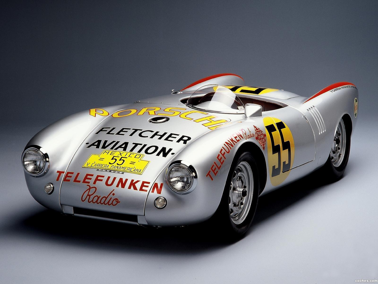 Fotos De Porsche 550 Spyder Carrera Panamerican 1954