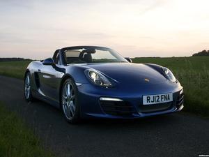 Porsche Boxster 981 UK 2012