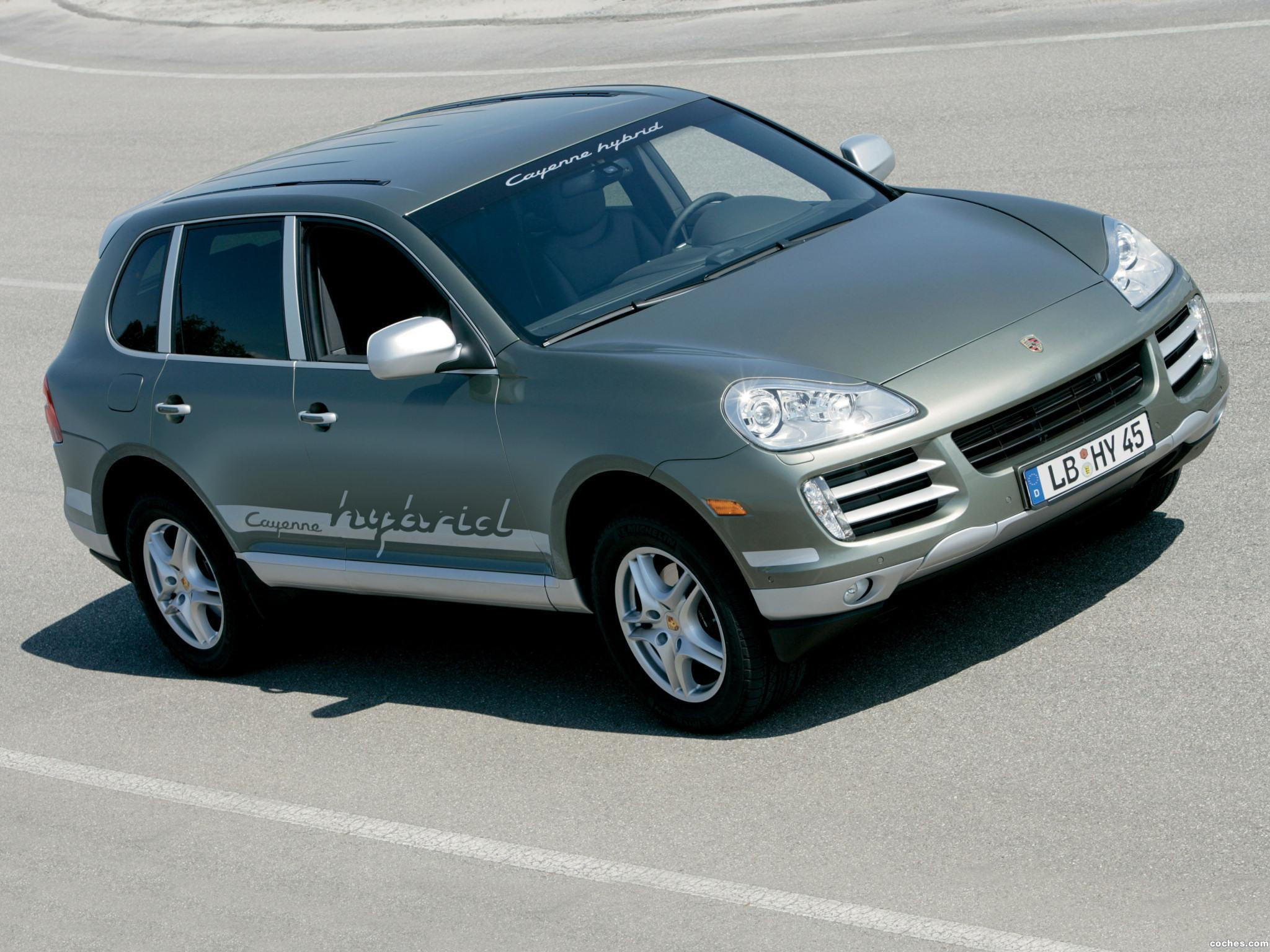 fotos de porsche cayenne hybrid 2007. Black Bedroom Furniture Sets. Home Design Ideas
