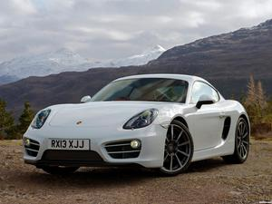 Porsche Cayman 981C UK 2013