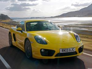 Porsche Cayman S 981C UK 2013