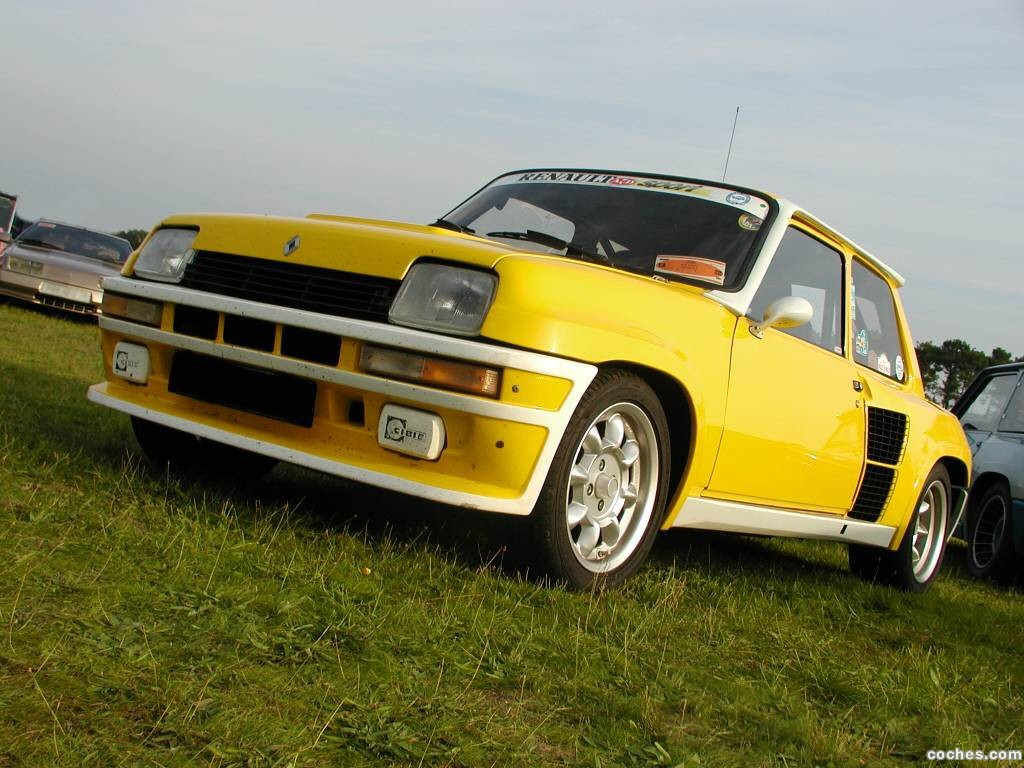 fotos de renault r5 turbo 1980. Black Bedroom Furniture Sets. Home Design Ideas