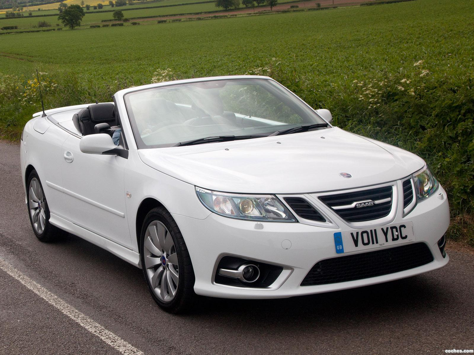 fotos de saab 9 3 griffin convertible aero uk 2011. Black Bedroom Furniture Sets. Home Design Ideas