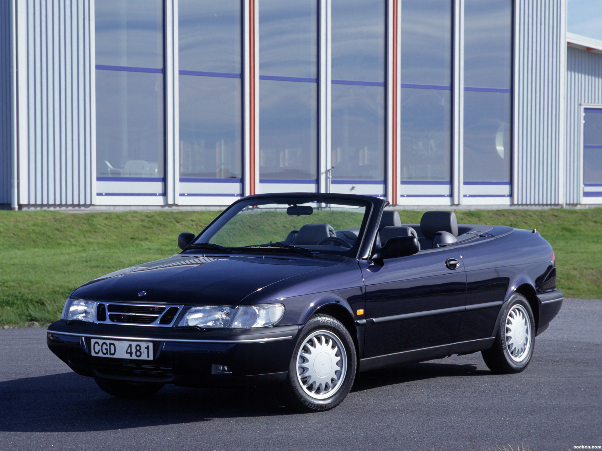 fotos de saab 900 s convertible 1997. Black Bedroom Furniture Sets. Home Design Ideas