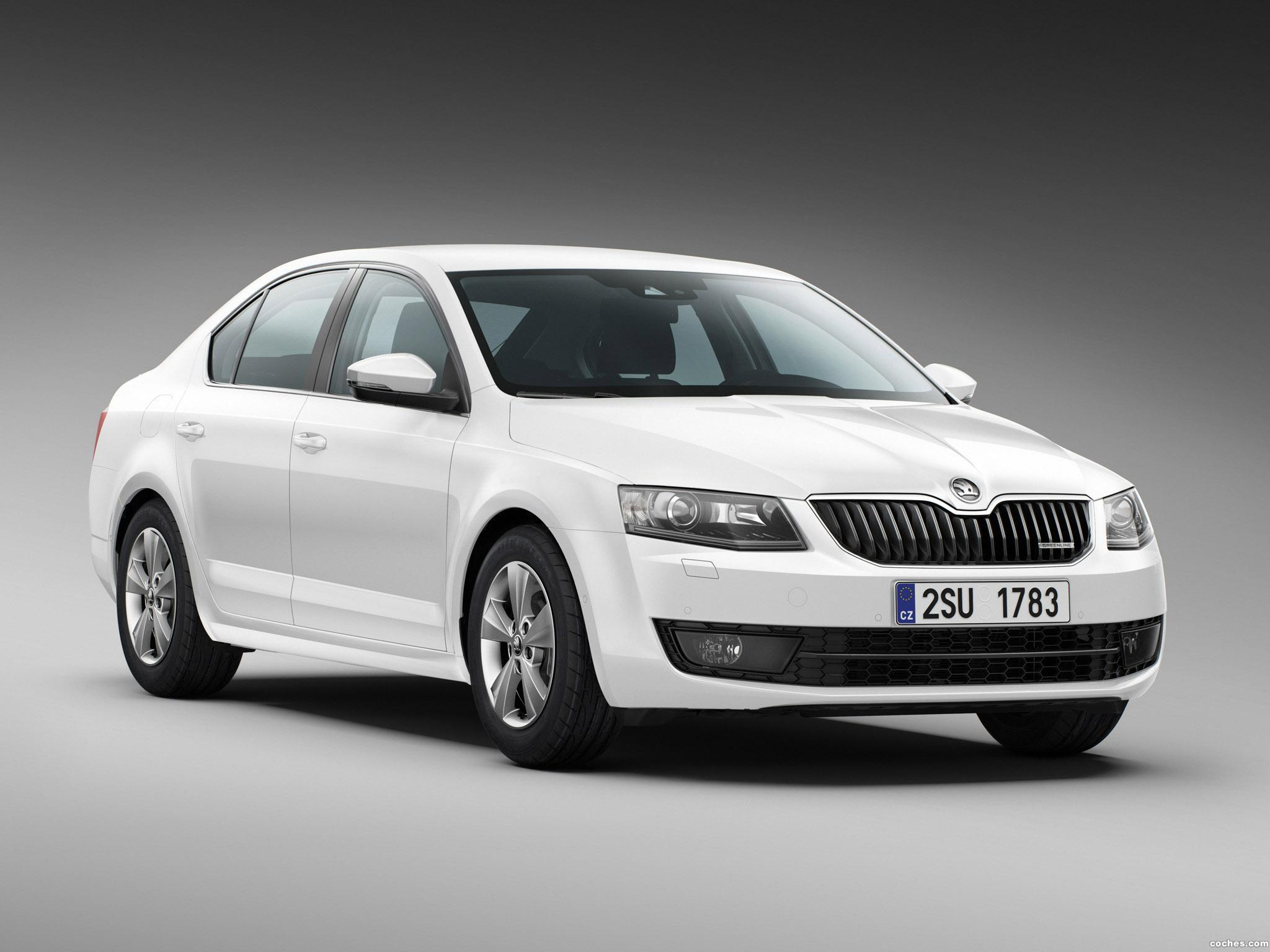 fotos de skoda octavia greenline 2013. Black Bedroom Furniture Sets. Home Design Ideas