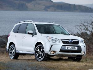 Subaru Forester XT UK 2013