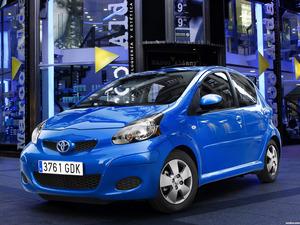 Toyota Aygo Facelift 2009