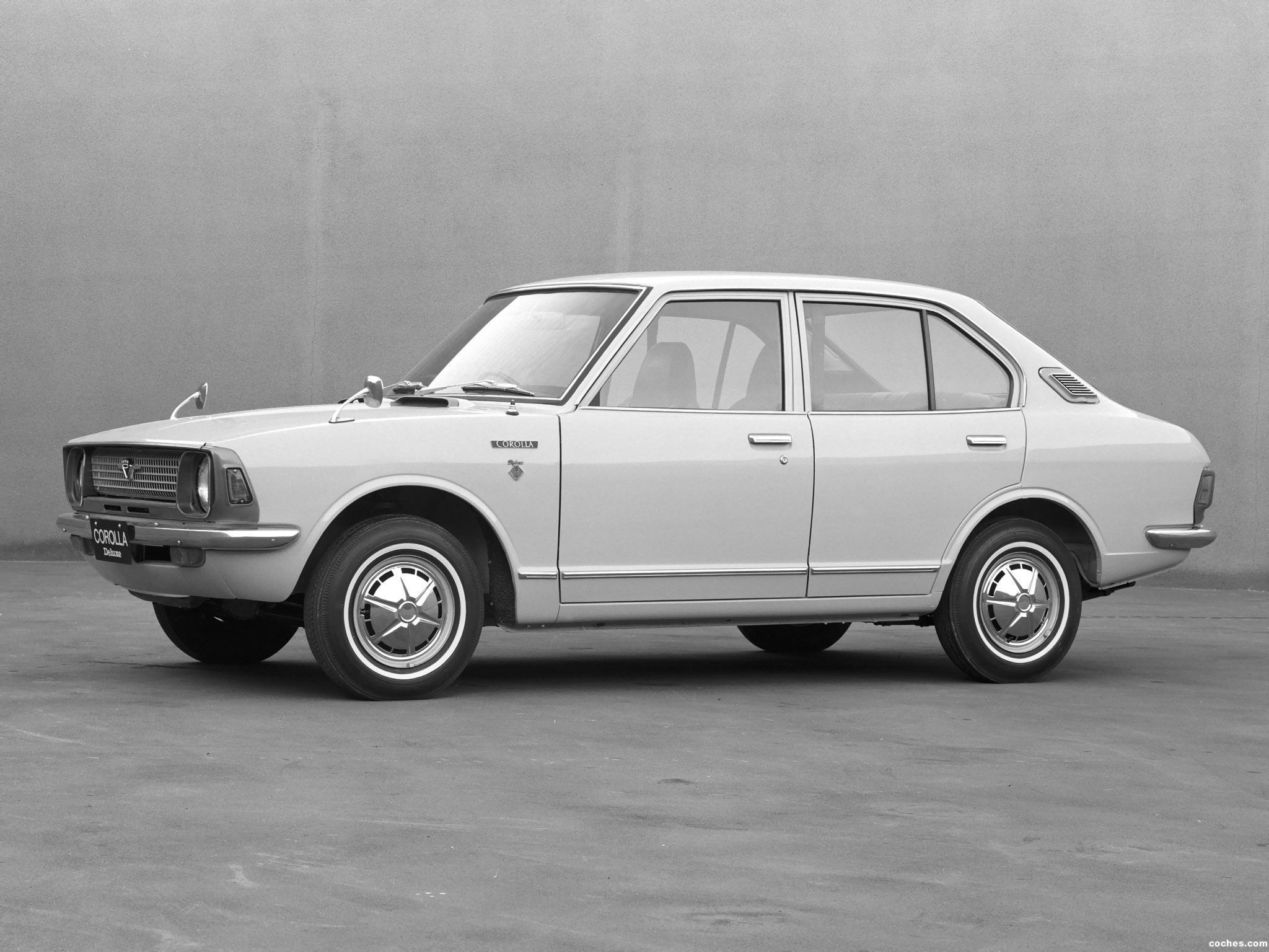 Fotos de Toyota Corolla 4 puertas Sedan KE20 Japan 1970