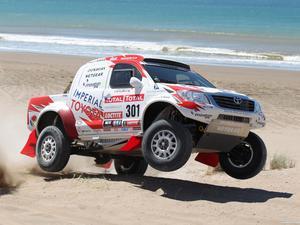 Toyota Hilux Rally Car 2012