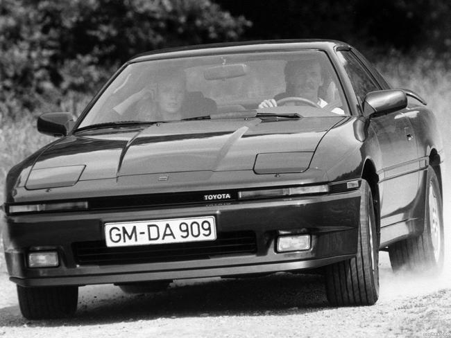 Primer modelo sin el Celica de la historia del Toyota Supra