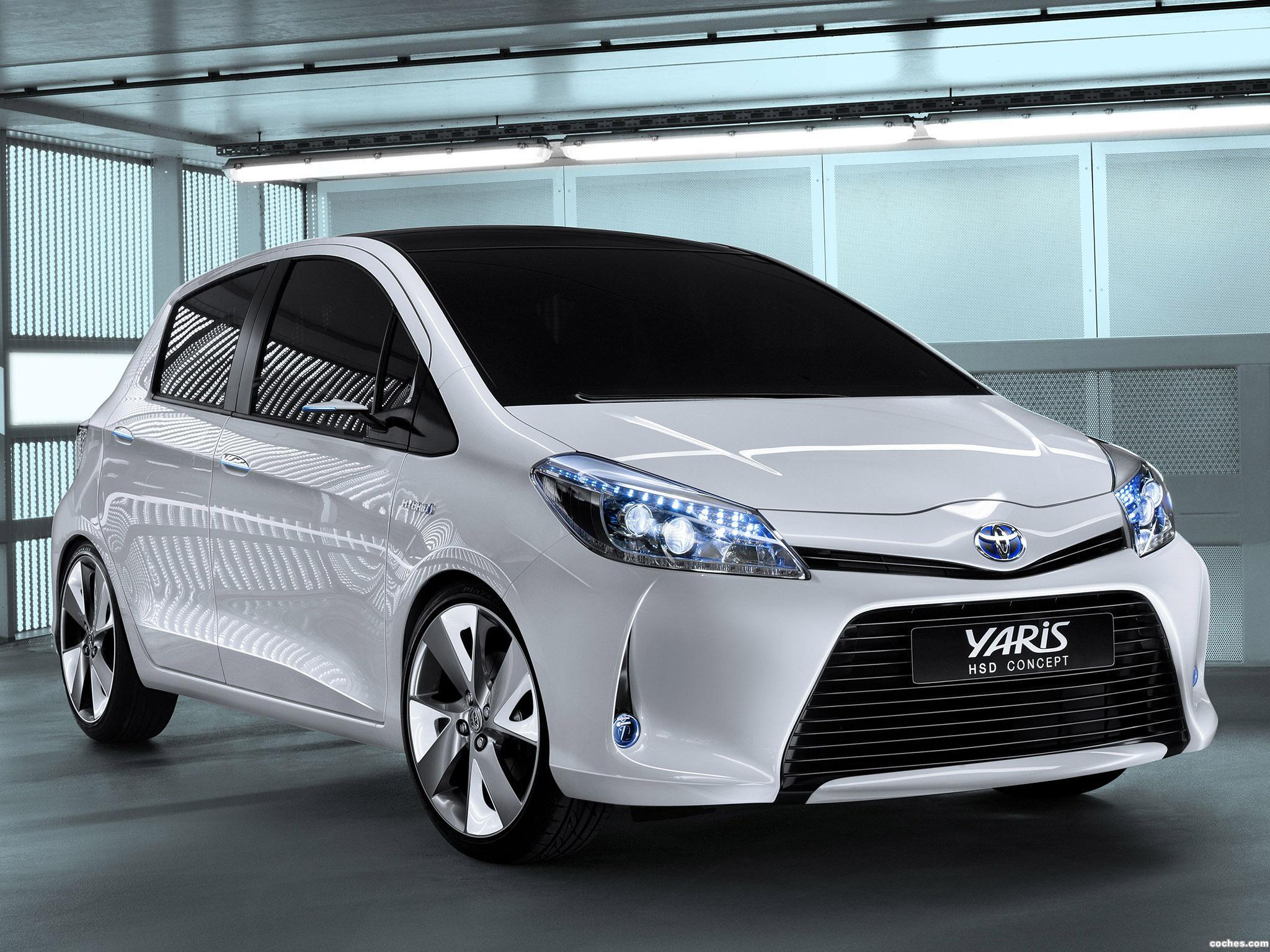 fotos de toyota yaris hsd concept 2011 foto 4. Black Bedroom Furniture Sets. Home Design Ideas