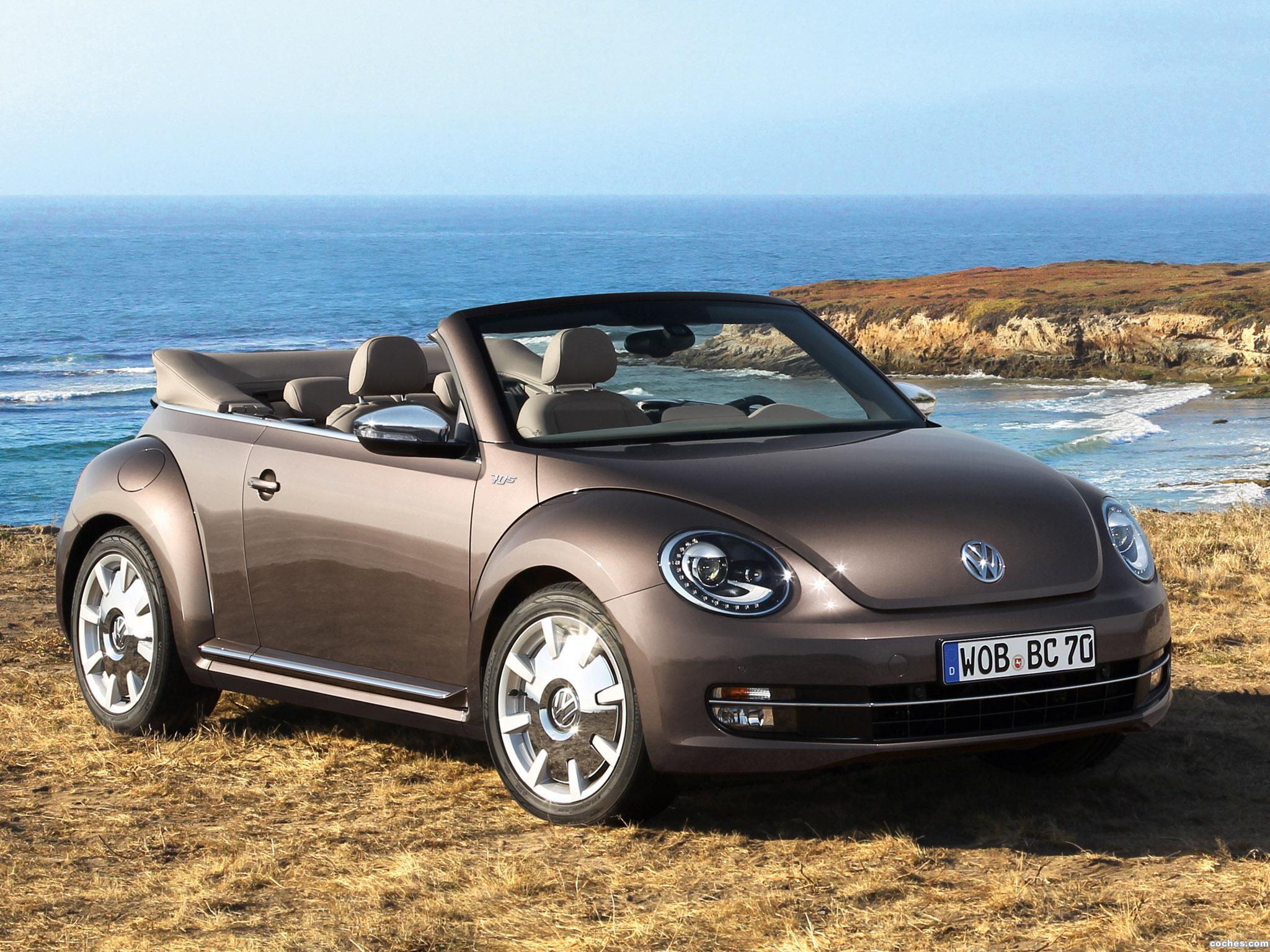 fotos de volkswagen beetle cabriolet 70s edition 2013. Black Bedroom Furniture Sets. Home Design Ideas
