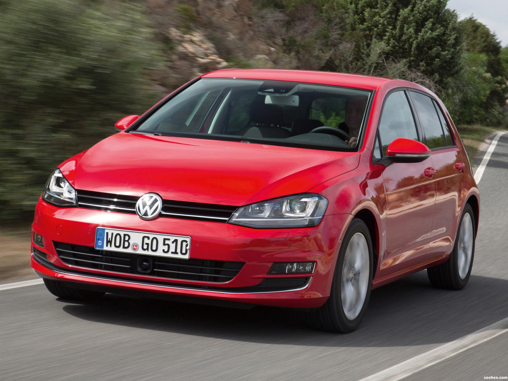 fotos de volkswagen golf 7 5 puertas 2 0 tdi bluemotion 2013. Black Bedroom Furniture Sets. Home Design Ideas