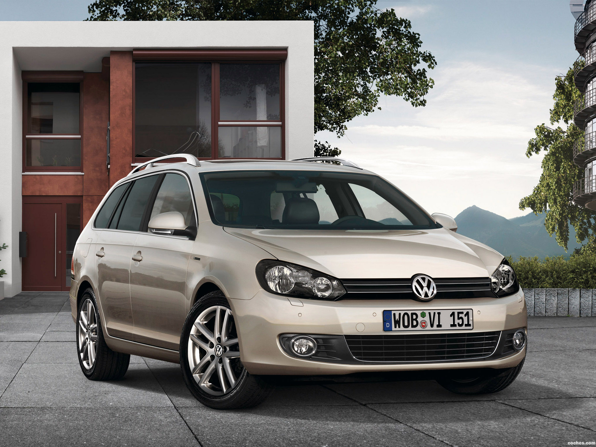 fotos de volkswagen golf vi variant exclusive 2009. Black Bedroom Furniture Sets. Home Design Ideas