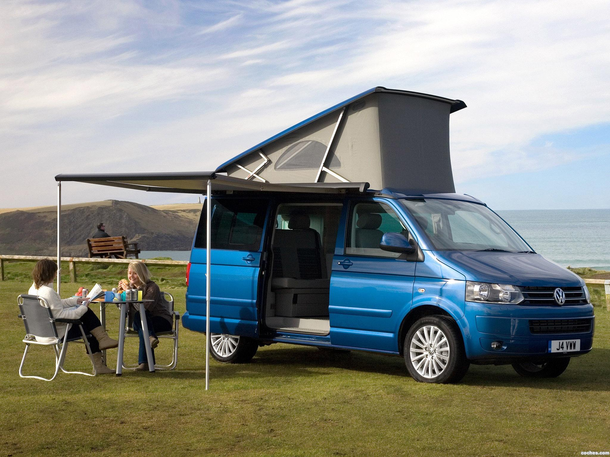 fotos de volkswagen transporter t5 california uk 2009. Black Bedroom Furniture Sets. Home Design Ideas