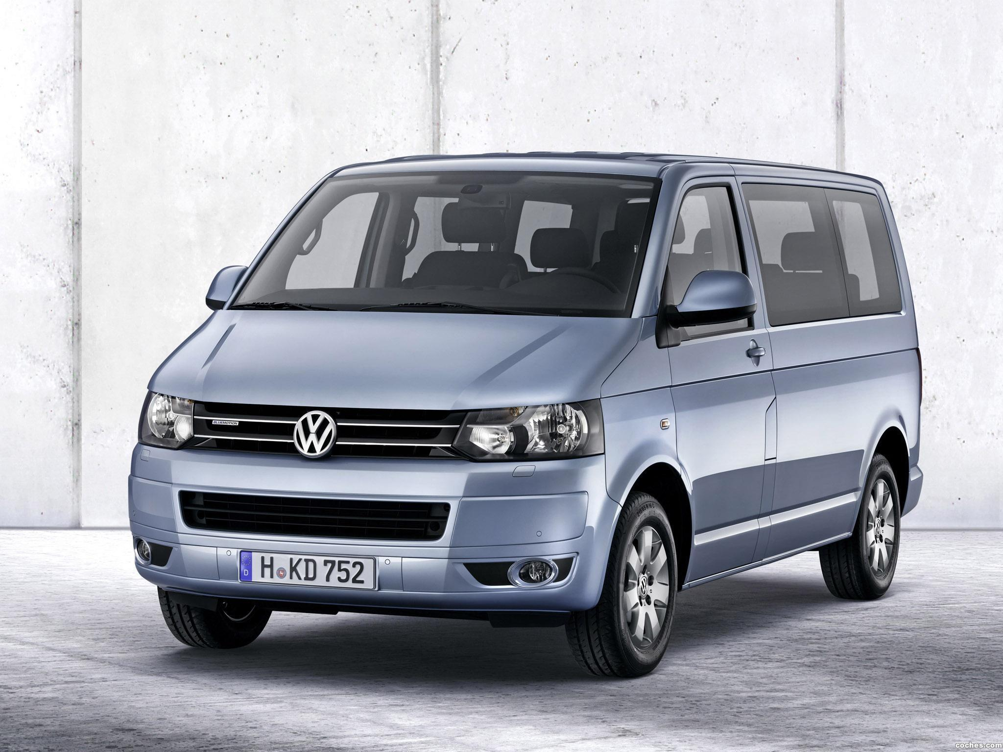 fotos de volkswagen transporter t5 multivan bluemotion 2011. Black Bedroom Furniture Sets. Home Design Ideas