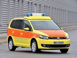 Volkswagen Touran Notarzt 2010
