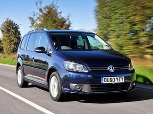 Volkswagen Touran UK 2010