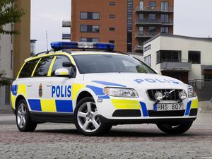 Volvo V70 Police Car 2007
