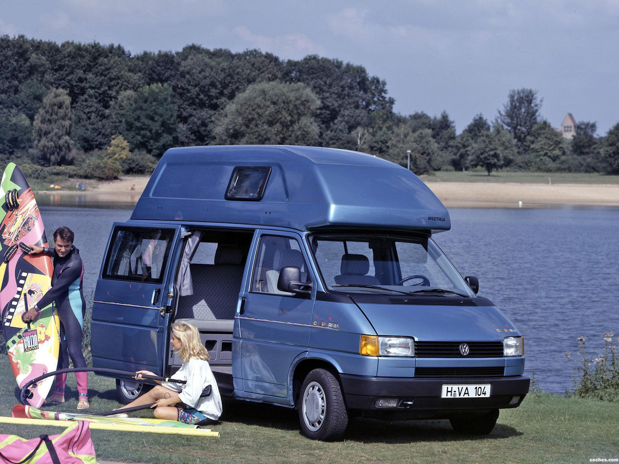 fotos de volkswagen transporter westfalia t4 california 1991. Black Bedroom Furniture Sets. Home Design Ideas