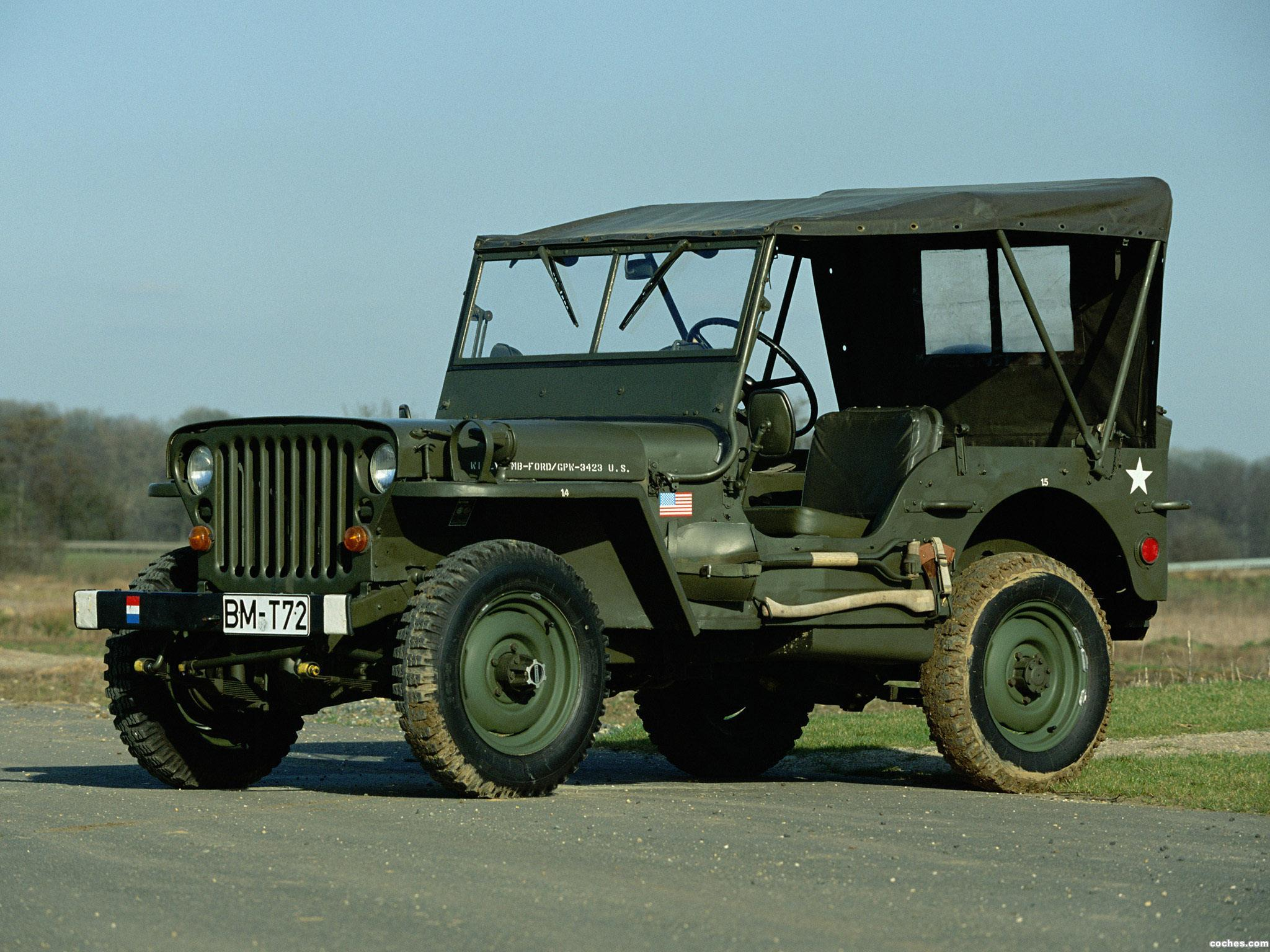 fotos de jeep willys mb 1942. Black Bedroom Furniture Sets. Home Design Ideas