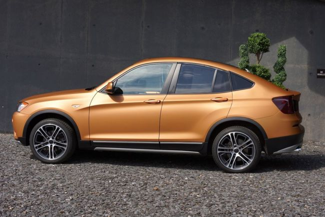 Bmw X4 pick up 2014 02