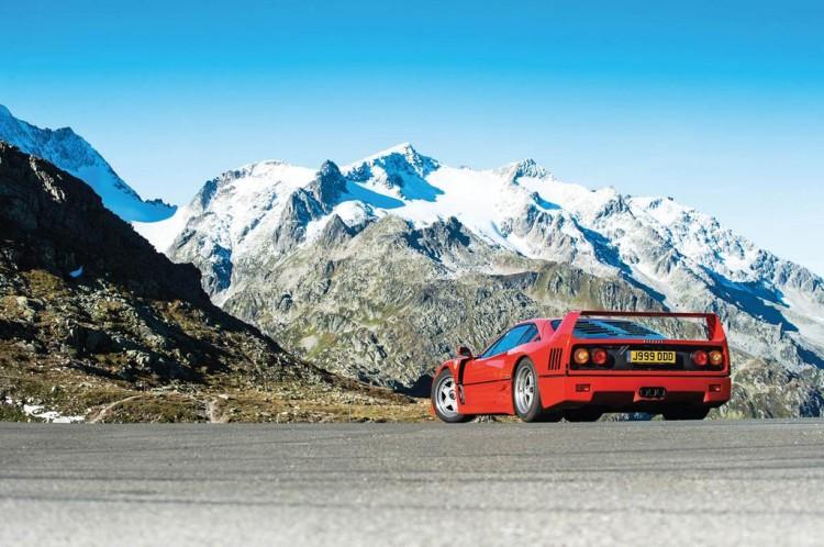 Ferrari F40 Alpes