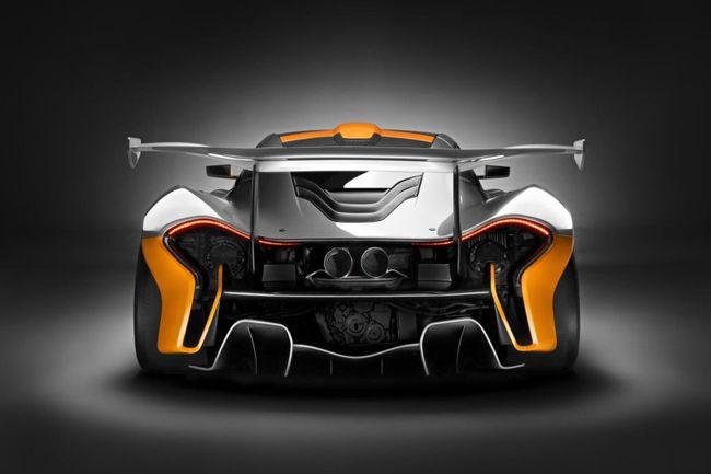 Mclaren P1 GTR Design Concept 2014 01