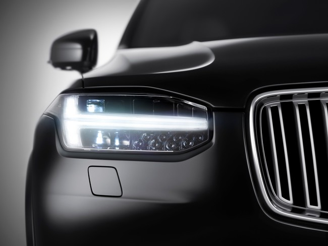 Volvo XC90 2015 faros