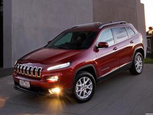 Jeep Cherokee Longitude Australia 2014