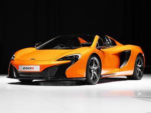 McLaren 650S Spyder UK 2014