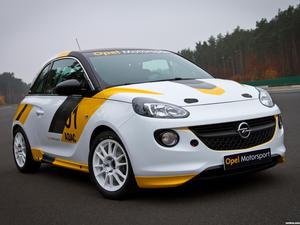 Opel Adam R2 Rally Cup 2013