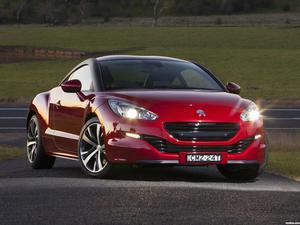 Peugeot RCZ Australia 2013