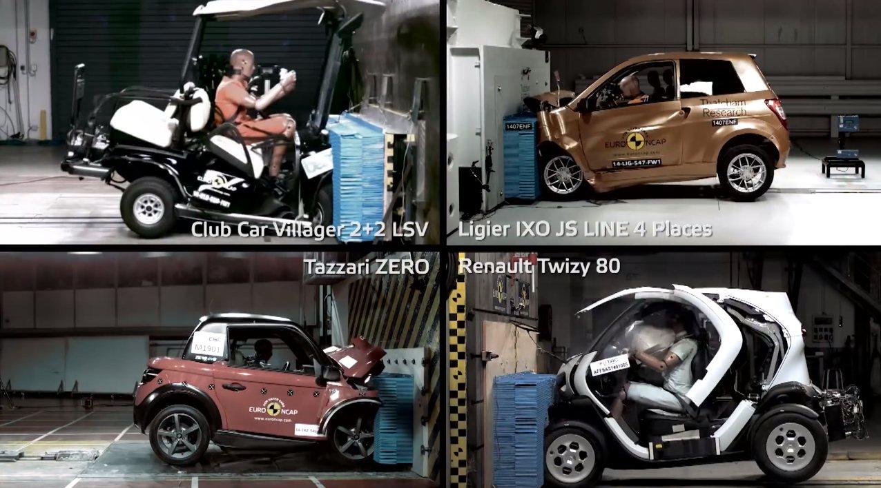 seguridad microcoches Euro NCAP