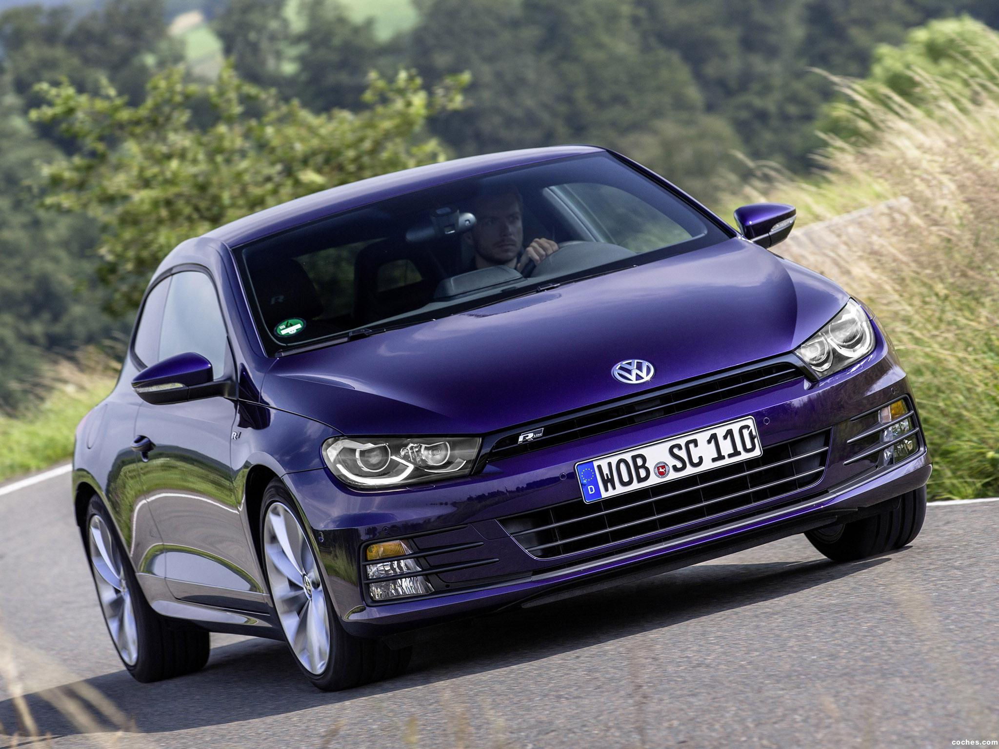 fotos de volkswagen scirocco 2 0 tdi r line 2014 foto 1. Black Bedroom Furniture Sets. Home Design Ideas