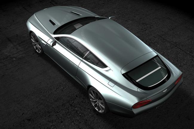 Aston Martin Virage Shooting Brake Zagato 02