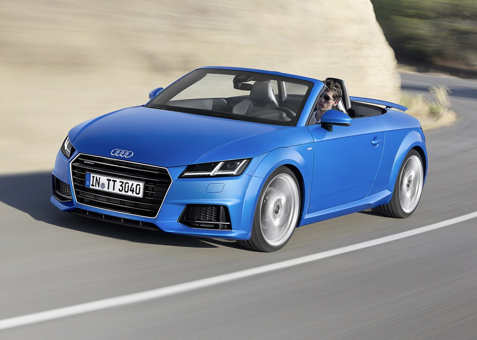 Audi TT Roadster 2015 10