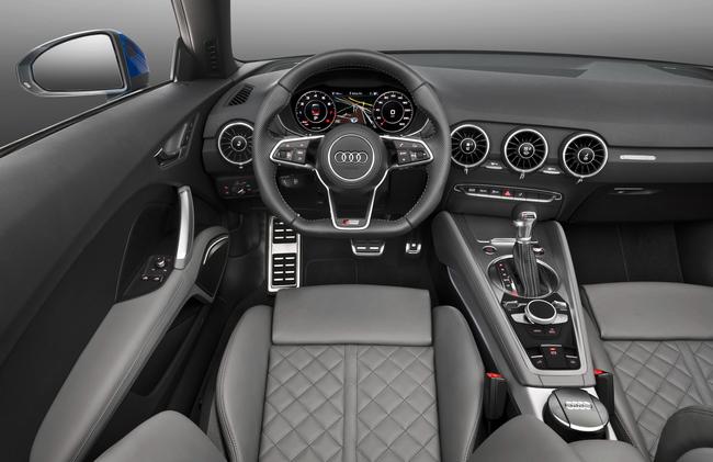 Audi TT Roadster 2015 interior 01
