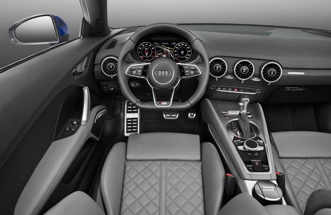 Audi TTS Roadster 2015 interior 01